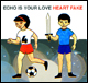 Echo Is Your Love - Heart Fake cd/lp